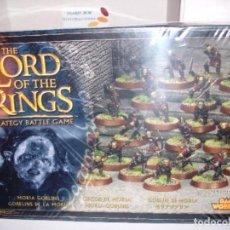 Juegos Antiguos: GAMES WORKSHOP LORD OF THE RINGS MORIA GOBLINS NEW SEALED PRECINTADO. Lote 205544223