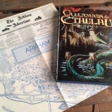 Juegos Antiguos: LIBRO JUEGO ROL LLAMADA DE CTHULHU. 1991. SANDY PETERSEN.. Lote 205599068