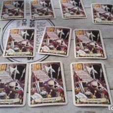 Juegos Antiguos: CARTAS DE EQUIPAMIENTO HEROQUEST. Lote 205683096