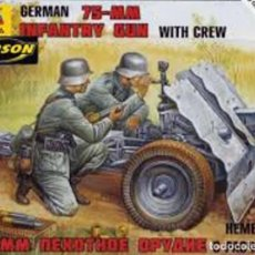 Giochi Antichi: GERMAN 75 MM. INFANTRY GUN WITH CREW, ZVEZDA 1/72. PRECINTADO. Lote 206270676