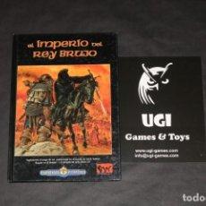 Juegos Antiguos: IMPERIO REY BRUJO SEÑOR ANILLOS SDLA JUEGO ROL JOC INTERNACIONAL LIBRO ICE MERP ROLEMASTER. Lote 88679680