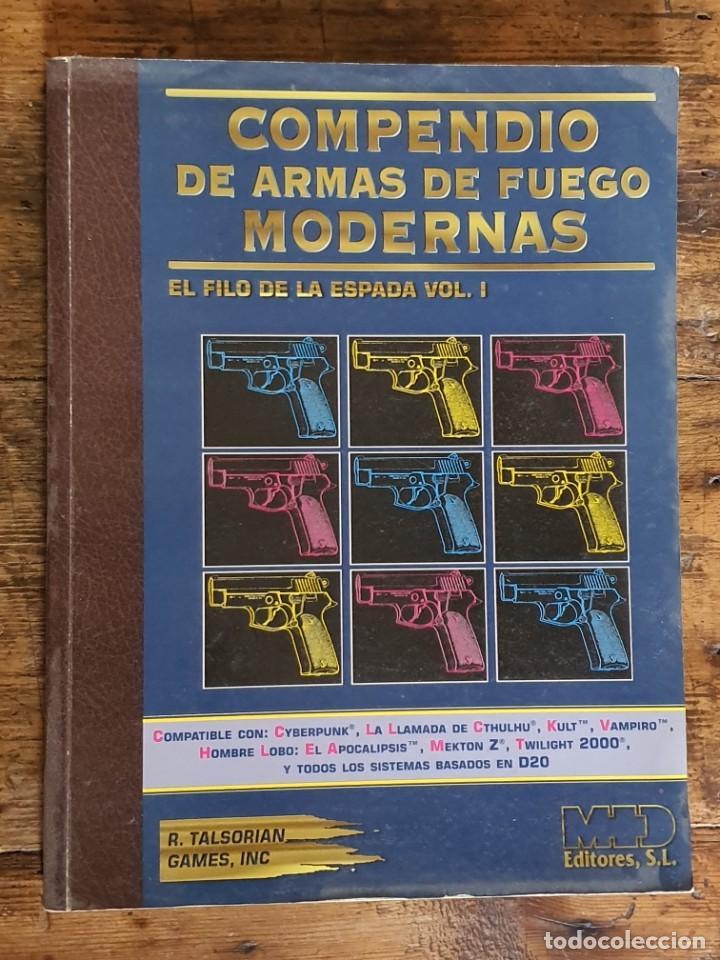 EL FILO DE LA ESPADA , COMPENDIO DE ARMAS MODERNAS - TALSORIAN GAMES 1995 (Juguetes - Rol y Estrategia - Juegos de Rol)