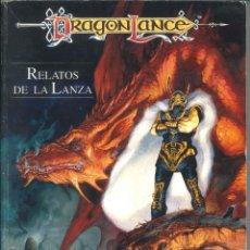 Jeux Anciens: ADVANCED DUNGEONS & DRAGONS DRAGONLANCE RELATOS DE LA LANZA (ZINCO 201). LIBRO DEL MUNDO DE ANSALON. Lote 206854507