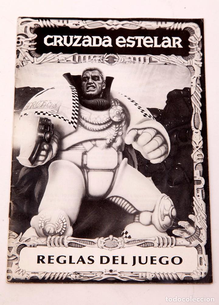 CRUZADA ESTELAR - LIBRO DE REGLAS (Juguetes - Rol y Estrategia - Otros)