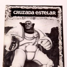 Juegos Antiguos: CRUZADA ESTELAR - LIBRO DE REGLAS. Lote 207011631
