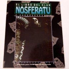 Juegos Antiguos: EL LIBRO DEL CLAN NOSFERATU - FACTORÍA DE IDEAS. Lote 207013552