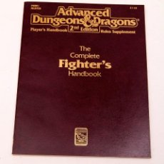 Juegos Antiguos: THE COMPLETE FIGHTER'S HANDBOOK - AD&D 2ª ED. - TSR 1989. Lote 207016557