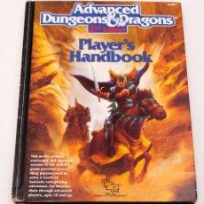 Juegos Antiguos: PLAYER'S HANDBOOK - AVANCED DANGEONS AND DRAGONS - 2ª ED.. Lote 207016923