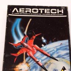 Juegos Antiguos: AEROTECH - BATTLETECH (DISEÑOS ORBITALES 1986) - COMPLETO. Lote 207018190