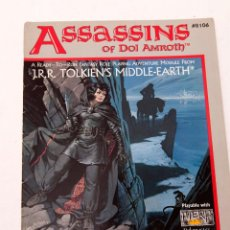 Juegos Antiguos: ASSASSINS OF DOL AMROTH - SEÑOR ANILLOS MERP ICE JOC INTERNACIONAL - 1987. Lote 207018718