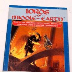 Juegos Antiguos: LORDS OF MIDDLE-EARTH VOL. I - EL SEÑOR DE LOS ANILLOS - ICE. Lote 207019066