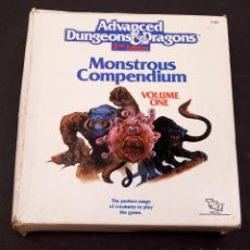 Juegos Antiguos: SUPER MONSTRUOS COMPENDIUM - AD&D - VOLS. 1, 2, 3, 5, 6, 8, 11 - DUNGEONS AND DRAGONS. Lote 207021267