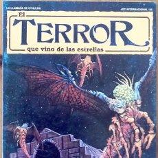 Juegos Antiguos: MODULO LA LLAMADA DE CTHULHU : EL TERROR QUE VINO DE LAS ESTRELLAS - JOC INTERNACIONAL - CHAOSIUM. Lote 207106616