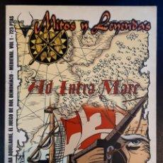 Juegos Antiguos: AQUELARRE. MITOS Y LEYENDAS. Lote 207121346