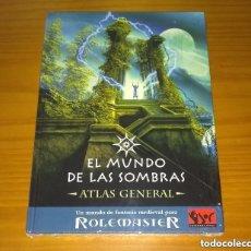 Juegos Antiguos: ROLEMASTER EL MUNDO DE LAS SOMBRAS ATLAS GENERAL JUEGO DE ROL JOC ¡¡¡PRECINTADO!!!. Lote 207178270