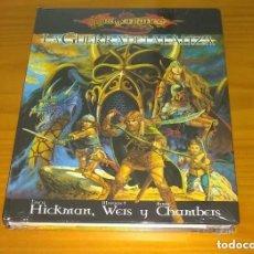 Juegos Antiguos: LA GUERRA DE LA LANZA DRAGONLANCE D&D 3.5 DUNGEONS AND DRAGONS ROL DEVIR PRECINTADO. Lote 207232645