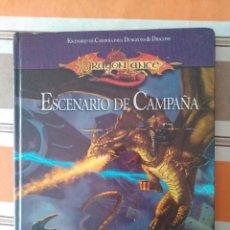 Giochi Antichi: DRAGONLANCE - ESCENARIO DE CAMPAÑA - JUEGO DE ROL - DUNGEONS AND DRAGONS. Lote 207822258