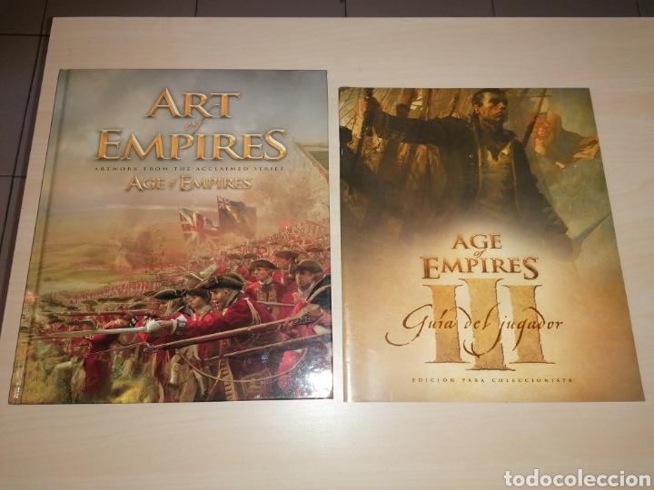 ART OF EMPIRES + GUÍA AGE OF EMPIRES III (Juguetes - Rol y Estrategia - Otros)