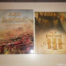 Juegos Antiguos: ART OF EMPIRES + GUÍA AGE OF EMPIRES III. Lote 208044825