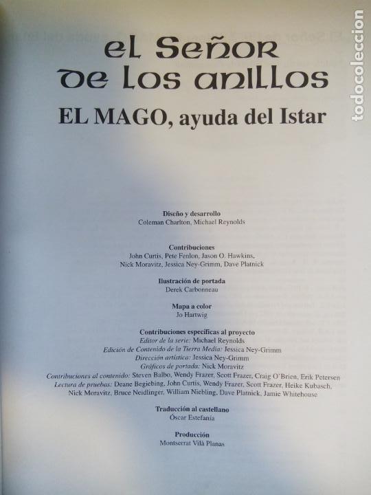 Juegos Antiguos: EL SEÑOR DE LOS ANILLOS. EL MAGO, AYUDA DEL ISTAR. JOC INTERNATIONAL. ESPAÑA 1996. - Foto 2 - 208770397