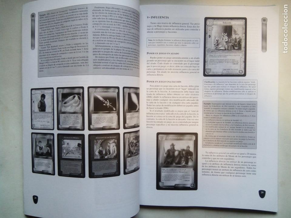 Juegos Antiguos: EL SEÑOR DE LOS ANILLOS. EL MAGO, AYUDA DEL ISTAR. JOC INTERNATIONAL. ESPAÑA 1996. - Foto 6 - 208770397