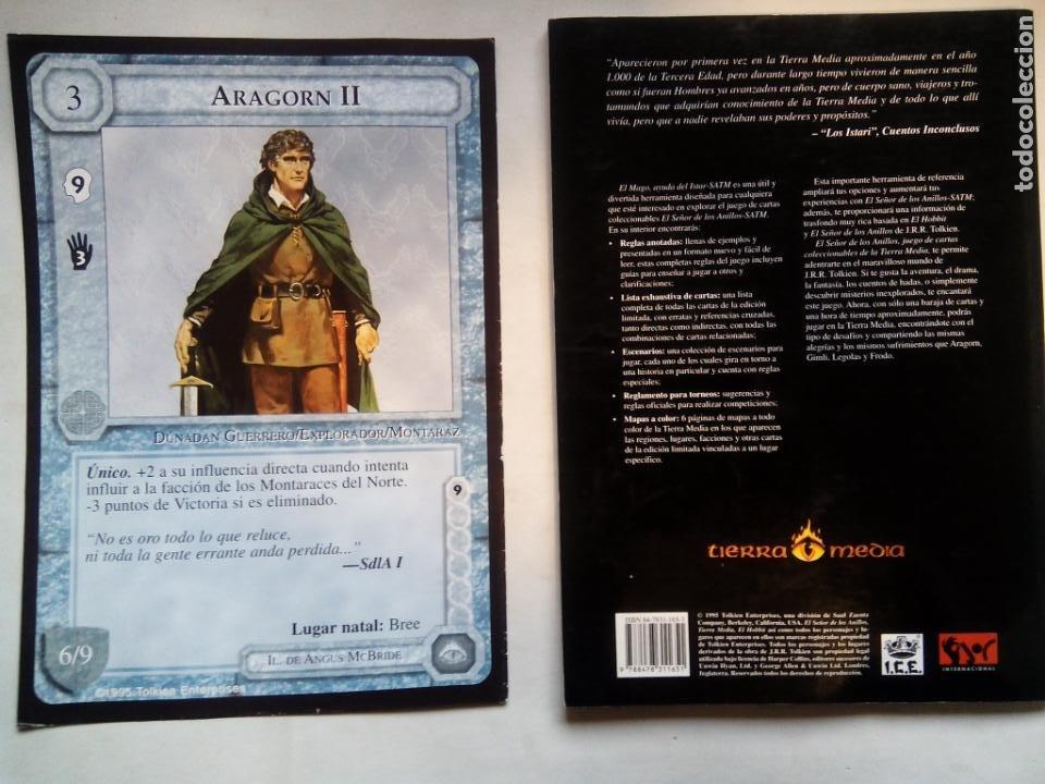 Juegos Antiguos: EL SEÑOR DE LOS ANILLOS. EL MAGO, AYUDA DEL ISTAR. JOC INTERNATIONAL. ESPAÑA 1996. - Foto 10 - 208770397