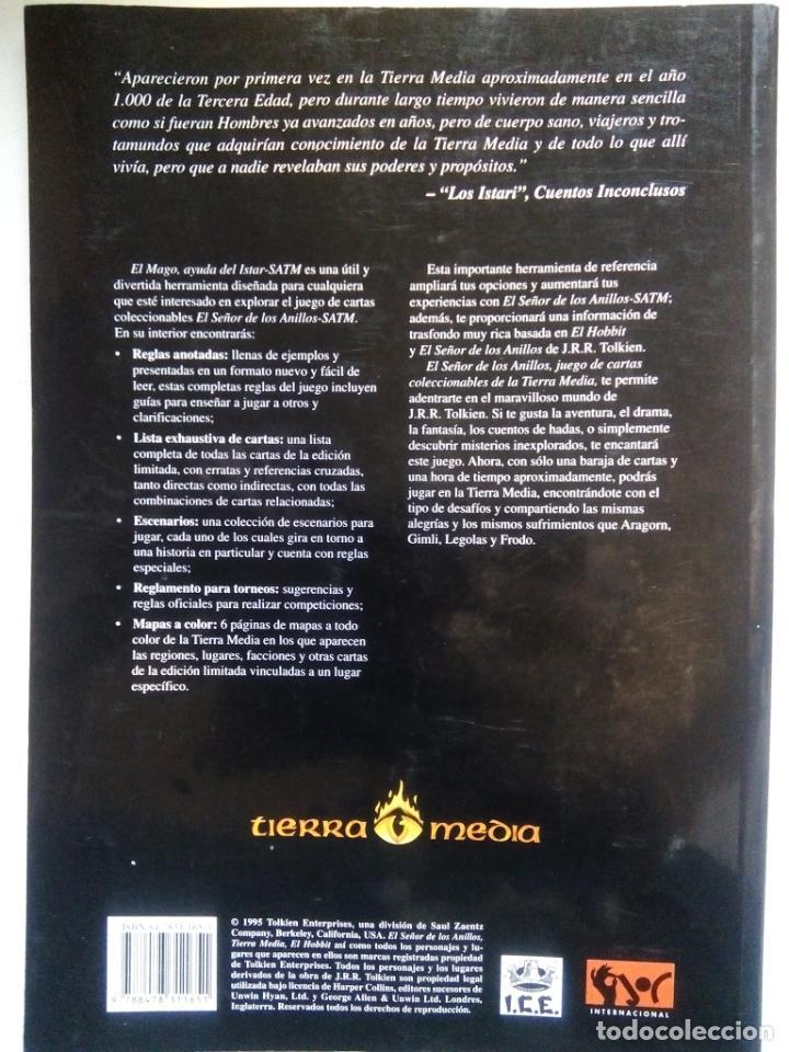 Juegos Antiguos: EL SEÑOR DE LOS ANILLOS. EL MAGO, AYUDA DEL ISTAR. JOC INTERNATIONAL. ESPAÑA 1996. - Foto 11 - 208770397
