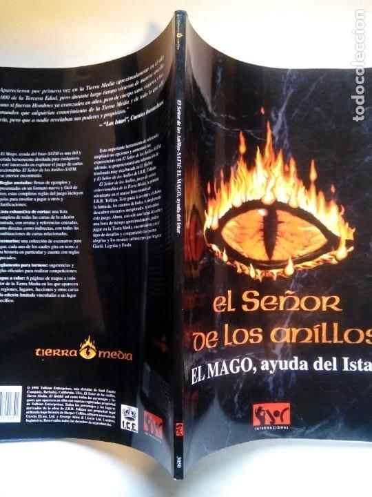 Juegos Antiguos: EL SEÑOR DE LOS ANILLOS. EL MAGO, AYUDA DEL ISTAR. JOC INTERNATIONAL. ESPAÑA 1996. - Foto 12 - 208770397