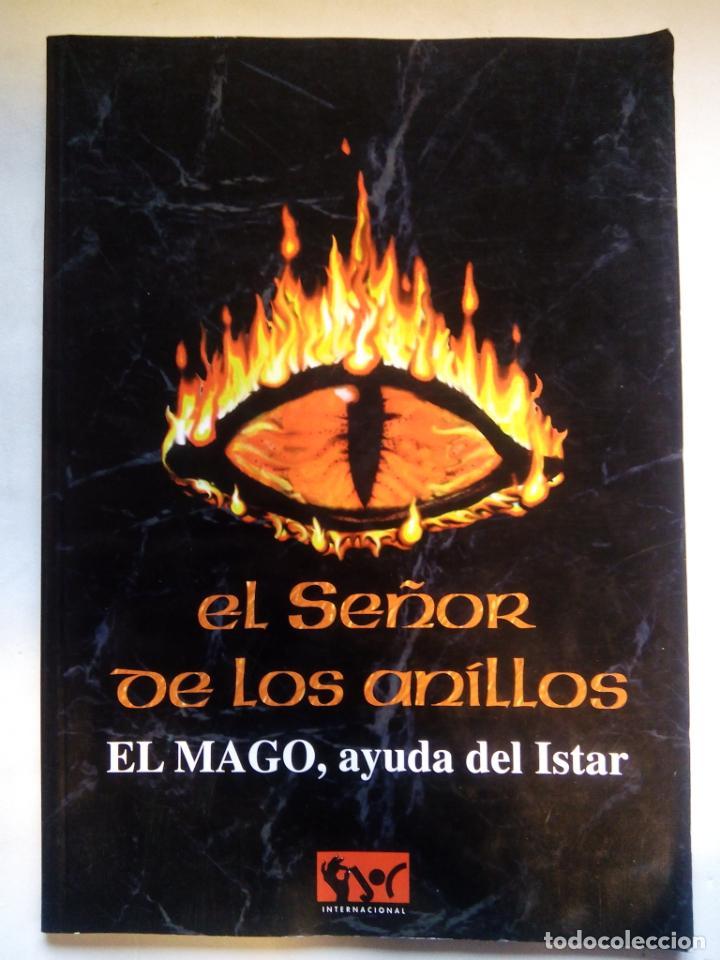 EL SEÑOR DE LOS ANILLOS. EL MAGO, AYUDA DEL ISTAR. JOC INTERNATIONAL. ESPAÑA 1996. (Juguetes - Rol y Estrategia - Otros)