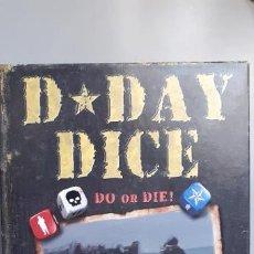 Juegos Antiguos: WARGAME D DAY DICE. Lote 209182626