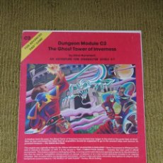 Juegos Antiguos: ADVANCED DUNGEONS & DRAGONS THE GHOST TOWER OF INVERNESS (TSR 9038). Lote 209628943