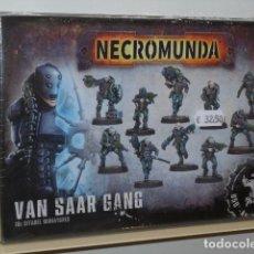 Jogos Antigos: NECROMUNDA VAN SAAR GANG - GAMES WORKSHOP OFERTA. Lote 209785888