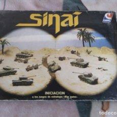 Juegos Antiguos: SINAÍ: INICIACIÓN A LOS JUEGOS DE ESTRATEGIA CEFA WARGAME GUERRA. Lote 210027350