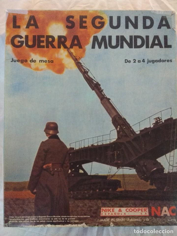 JUEGO DE ESTRATEGIA NAC LA SEGUNDA GUERRA MUNDIAL/SERIE WARGAMES/NIKE & COOPER. (Juguetes - Rol y Estrategia - Juegos de Rol)