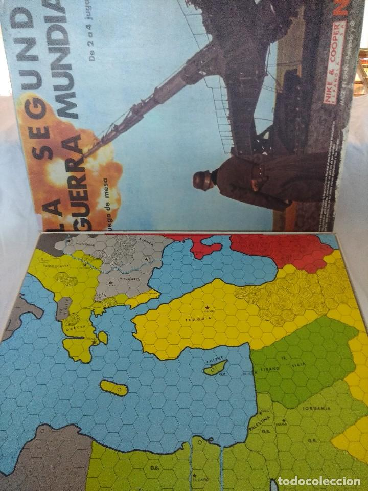 Juegos Antiguos: JUEGO DE ESTRATEGIA NAC LA SEGUNDA GUERRA MUNDIAL/SERIE WARGAMES/NIKE & COOPER. - Foto 2 - 210117565