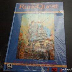 Jeux Anciens: JUEGO DE ROL: RUNE QUEST AVANZADO PRECINTADO. Lote 210339406