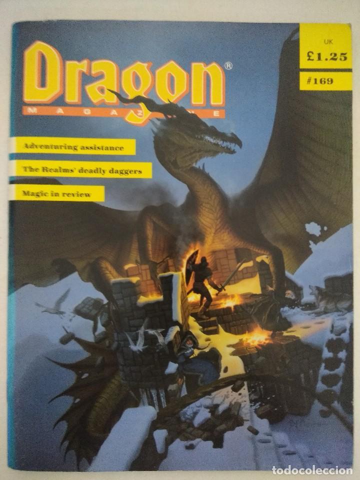 DRAGON MAGAZINE/REVISTA DE JUEGOS DE ROL Nº169/EDICION INGLESA. (Juguetes - Rol y Estrategia - Juegos de Rol)