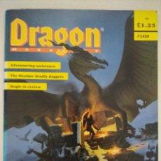 Juegos Antiguos: DRAGON MAGAZINE/REVISTA DE JUEGOS DE ROL Nº169/EDICION INGLESA.. Lote 210582461