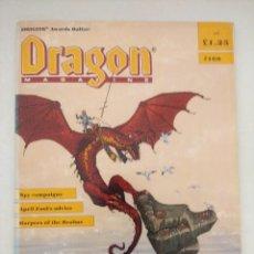 Juegos Antiguos: DRAGON MAGAZINE/REVISTA DE JUEGOS DE ROL Nº168/EDICION INGLESA.. Lote 210584225