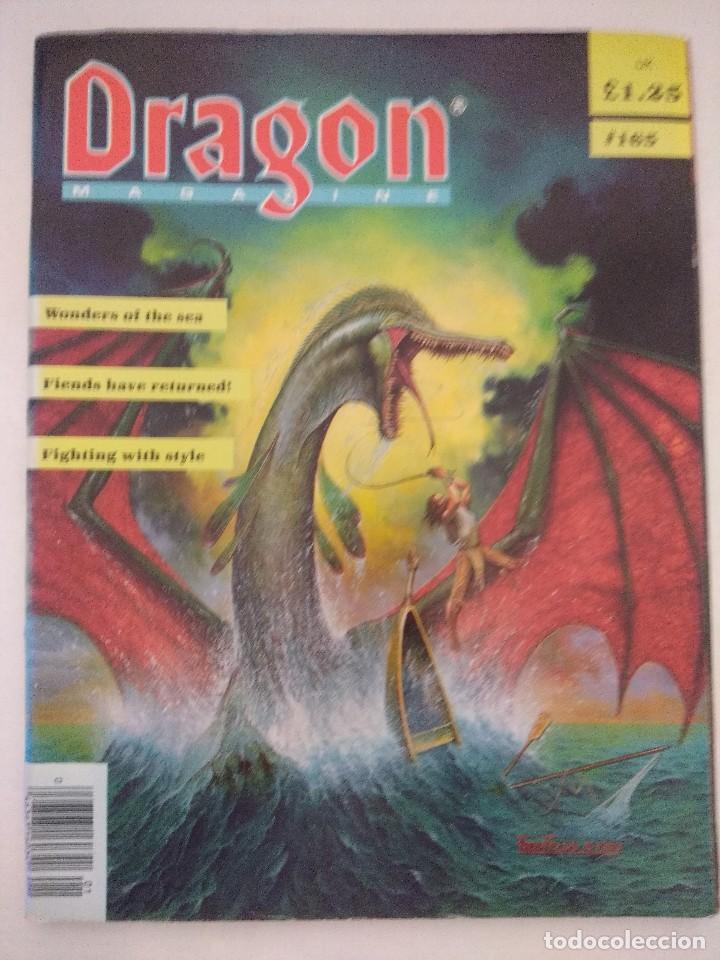 DRAGON MAGAZINE/REVISTA DE JUEGOS DE ROL Nº165/EDICION INGLESA. (Juguetes - Rol y Estrategia - Juegos de Rol)