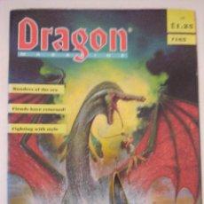 Juegos Antiguos: DRAGON MAGAZINE/REVISTA DE JUEGOS DE ROL Nº165/EDICION INGLESA.. Lote 210584533