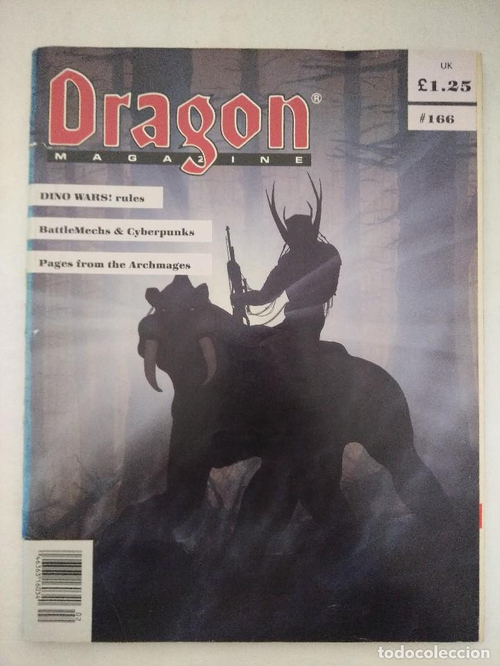 DRAGON MAGAZINE/REVISTA DE JUEGOS DE ROL Nº166/EDICION INGLESA. (Juguetes - Rol y Estrategia - Juegos de Rol)