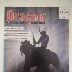 Juegos Antiguos: DRAGON MAGAZINE/REVISTA DE JUEGOS DE ROL Nº166/EDICION INGLESA.. Lote 210584591