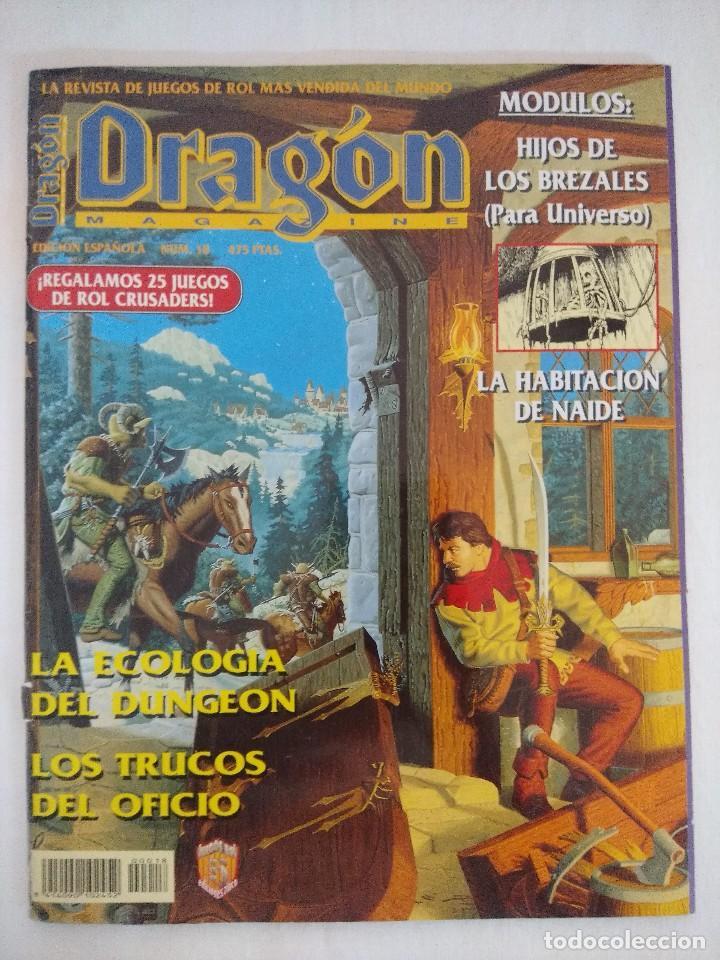 DRAGON MAGAZINE/REVISTA DE JUEGOS DE ROL Nº18/DISPONE DE POSTER. (Juguetes - Rol y Estrategia - Juegos de Rol)