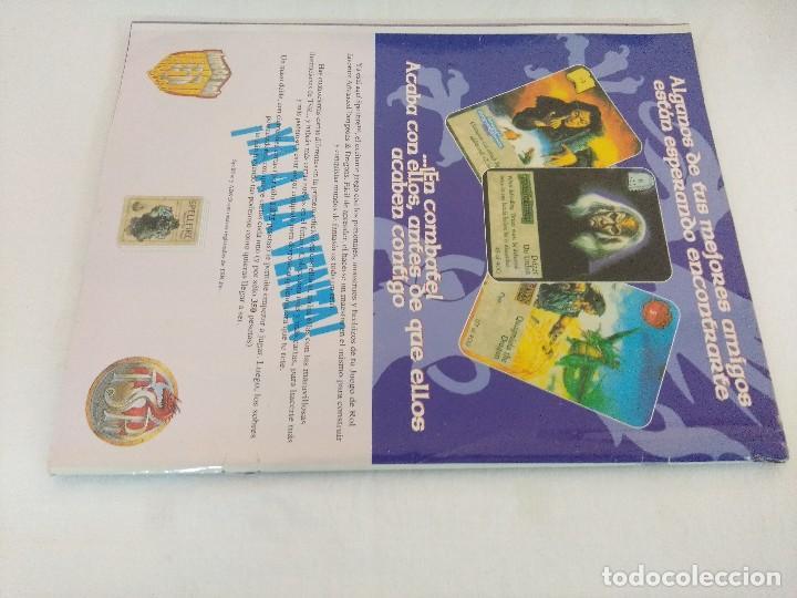 Juegos Antiguos: DRAGON MAGAZINE/REVISTA DE JUEGOS DE ROL Nº18/DISPONE DE POSTER. - Foto 2 - 210585768
