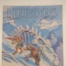 Juegos Antiguos: REVISTA DE ROL HEROES/RUNEQUEST ADVENTURER VOL II Nº2/GAMES OF ESTRATEGY/EDICION EN INGLES.. Lote 210589151