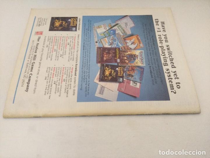 Juegos Antiguos: REVISTA DE ROL HEROES/RUNEQUEST ADVENTURER VOL II Nº2/GAMES OF ESTRATEGY/EDICION EN INGLES. - Foto 3 - 210589151