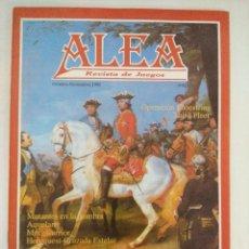 Juegos Antiguos: REVISTA DE JUEGOS-ROL ALEA Nº11.. Lote 210589913