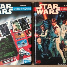 Juegos Antiguos: STAR WARS: LA GUERRA DE LAS GALAXIAS EL JUEGO DE ROL + LA GUÍA. JOC INTERNACIONAL 1990 (1ª EDICIÓ. Lote 210768374