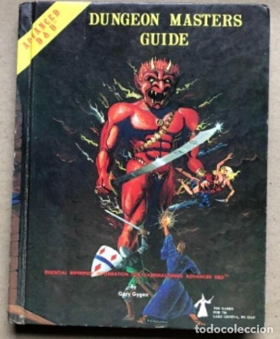 Juegos Antiguos: DUNGEON MASTERS GUIDE Y FIEND FOLIO. ADVANCED D & D AVENTURE GAMES. TSR GAMES. - Foto 2 - 150251266